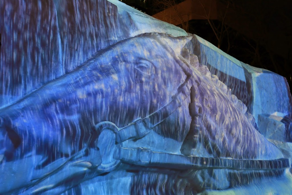 Projection Mapping Sapporo Snow Festival