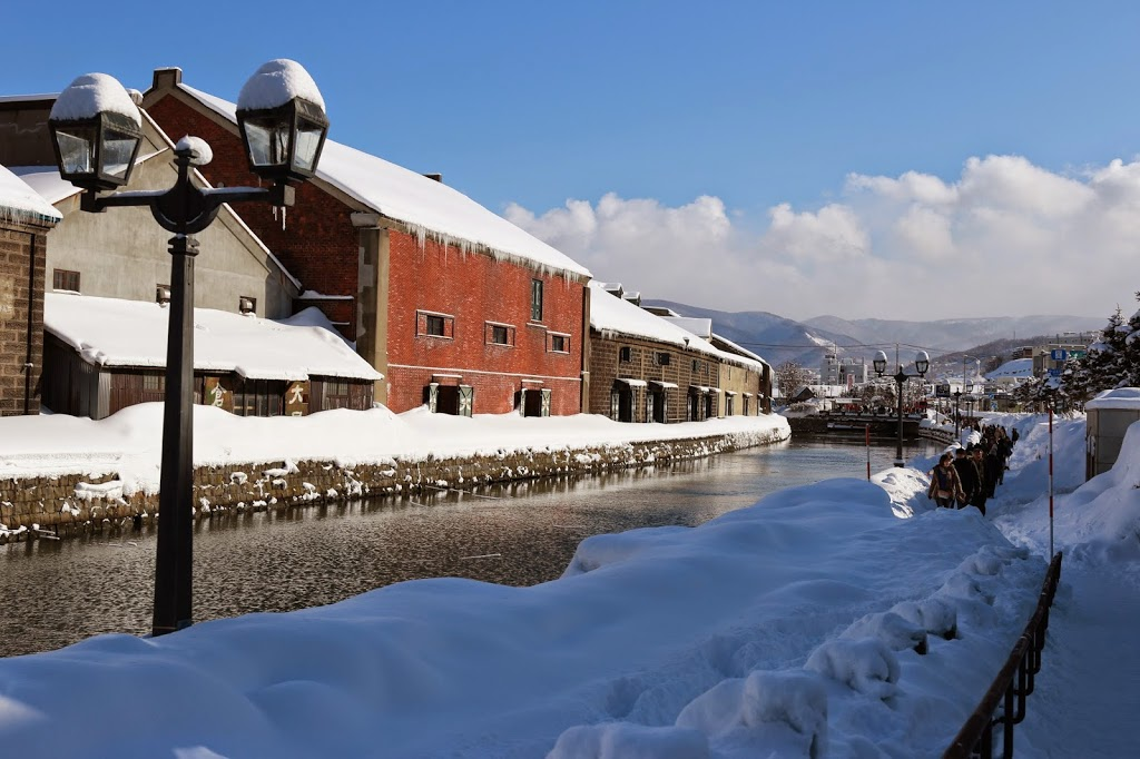 Romantic Otaru Canal in Winter