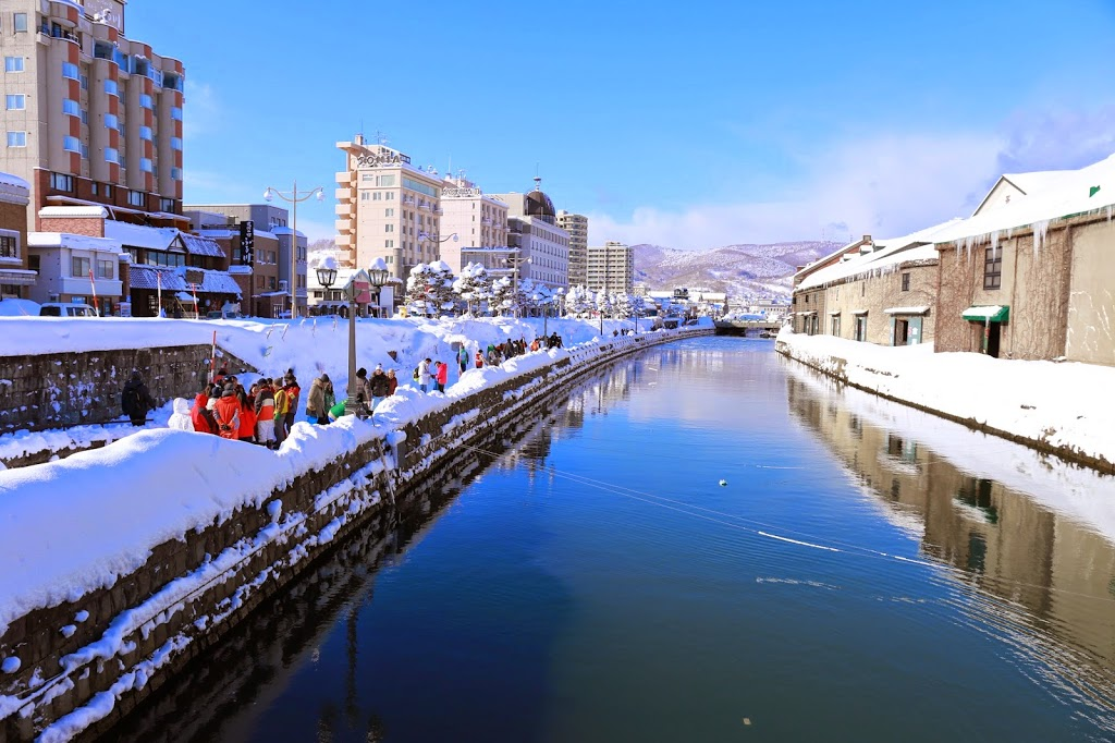 Otaru Canal in Winter