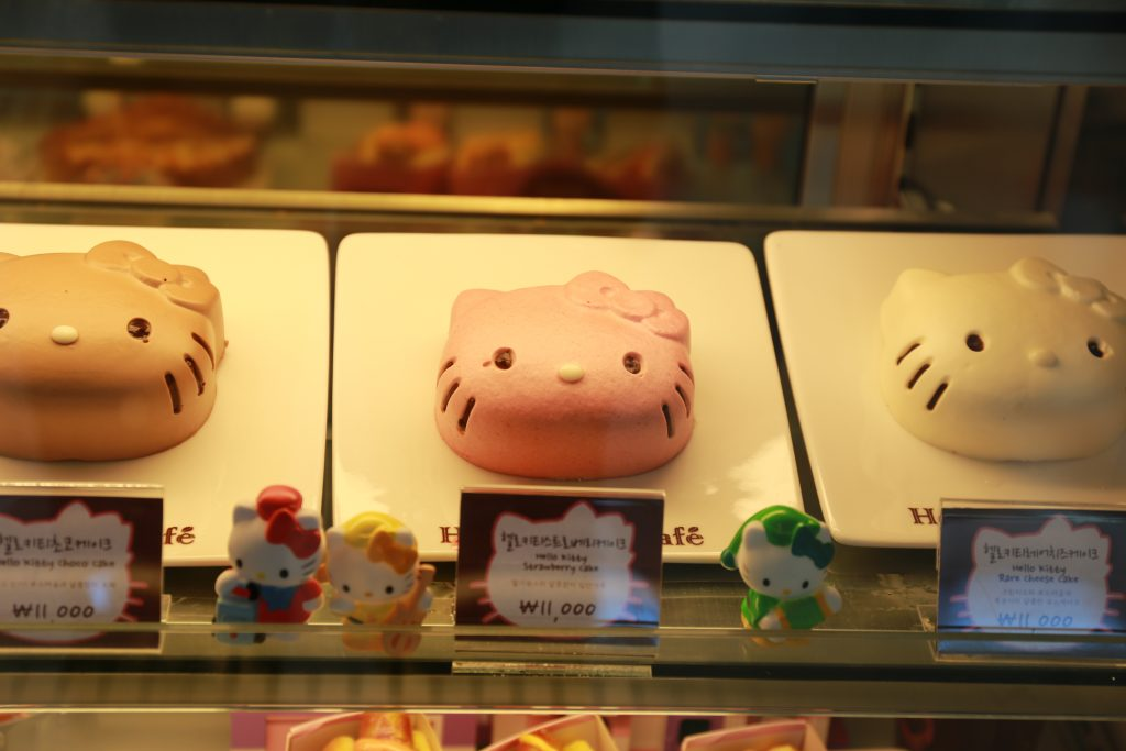 Hello Kitty Cafe at Incheon Airport