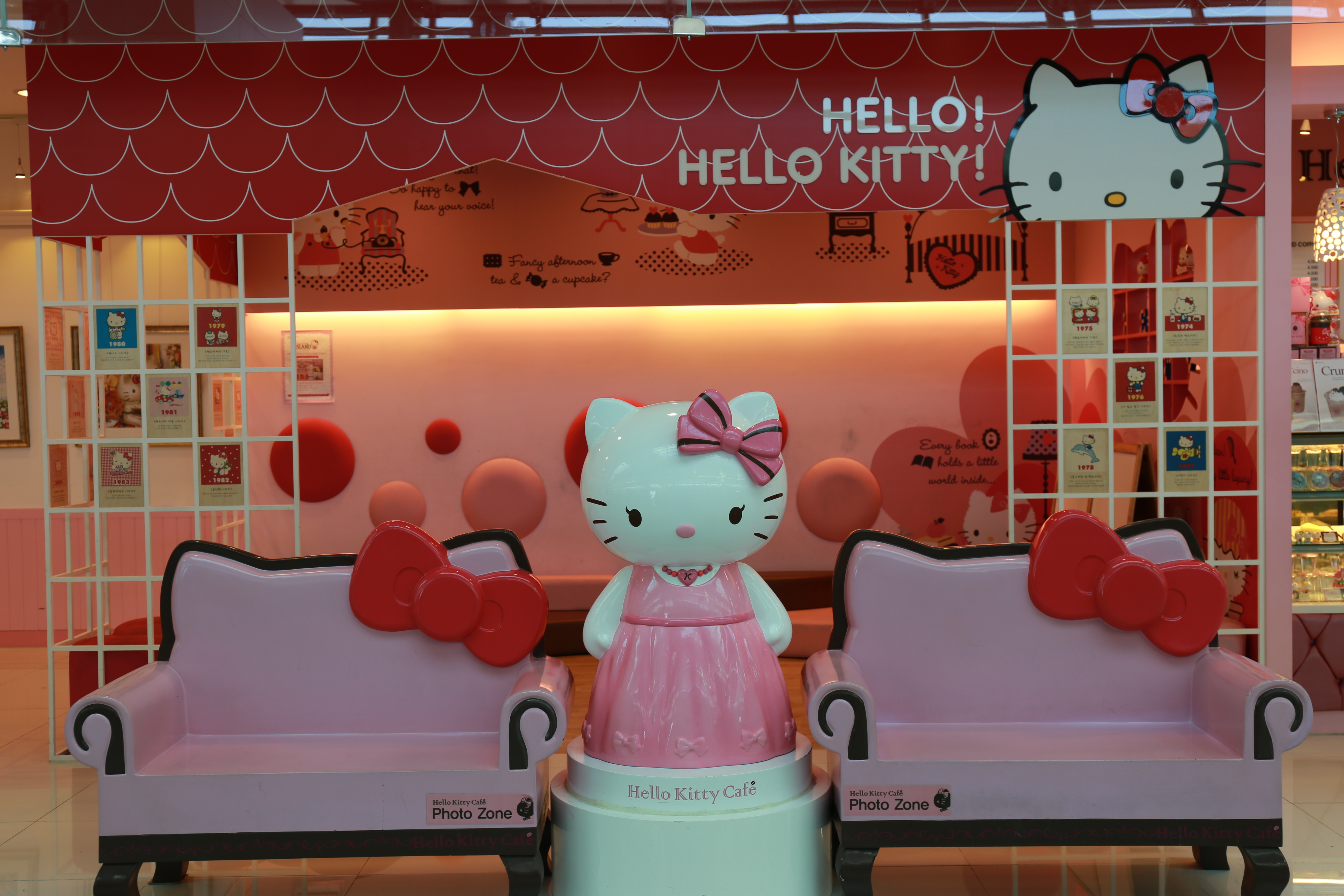 Hello, Hello Kitty : A Theme Cafe at Seoul Incheon Airport