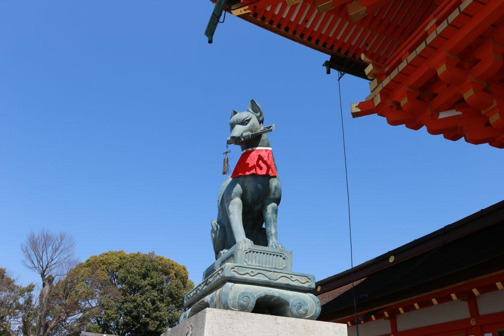 Dog at Fushimi