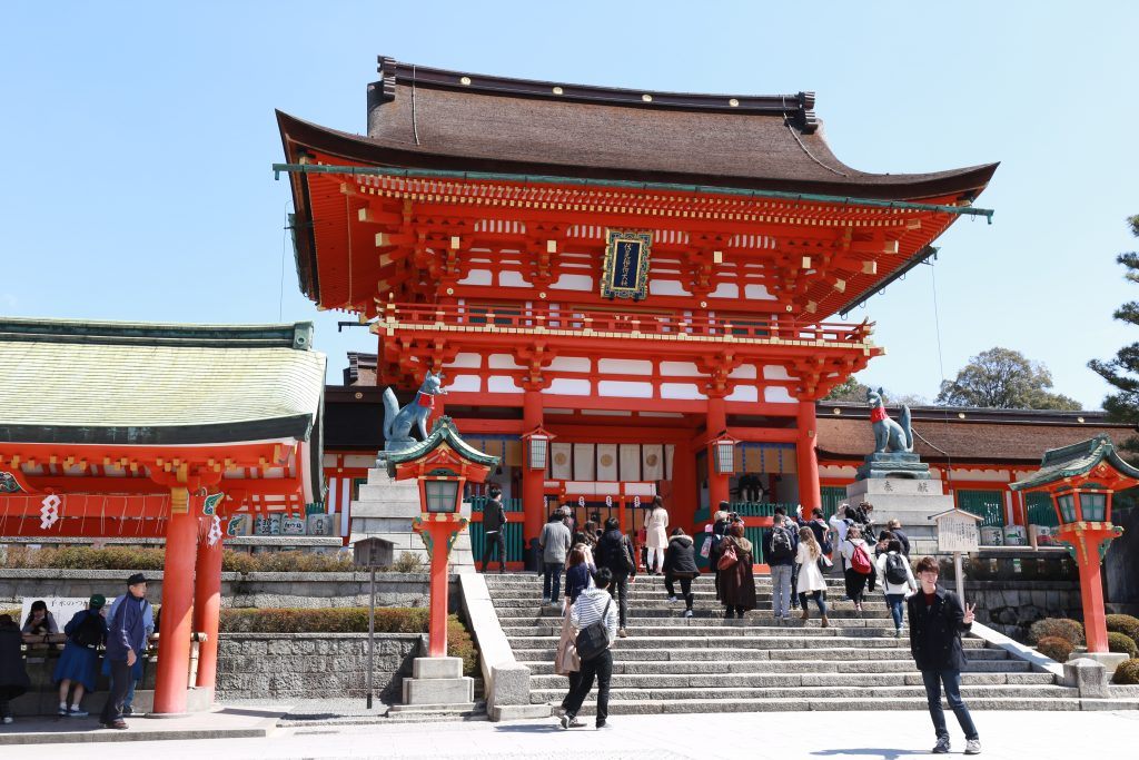 Fushimi entrance temple