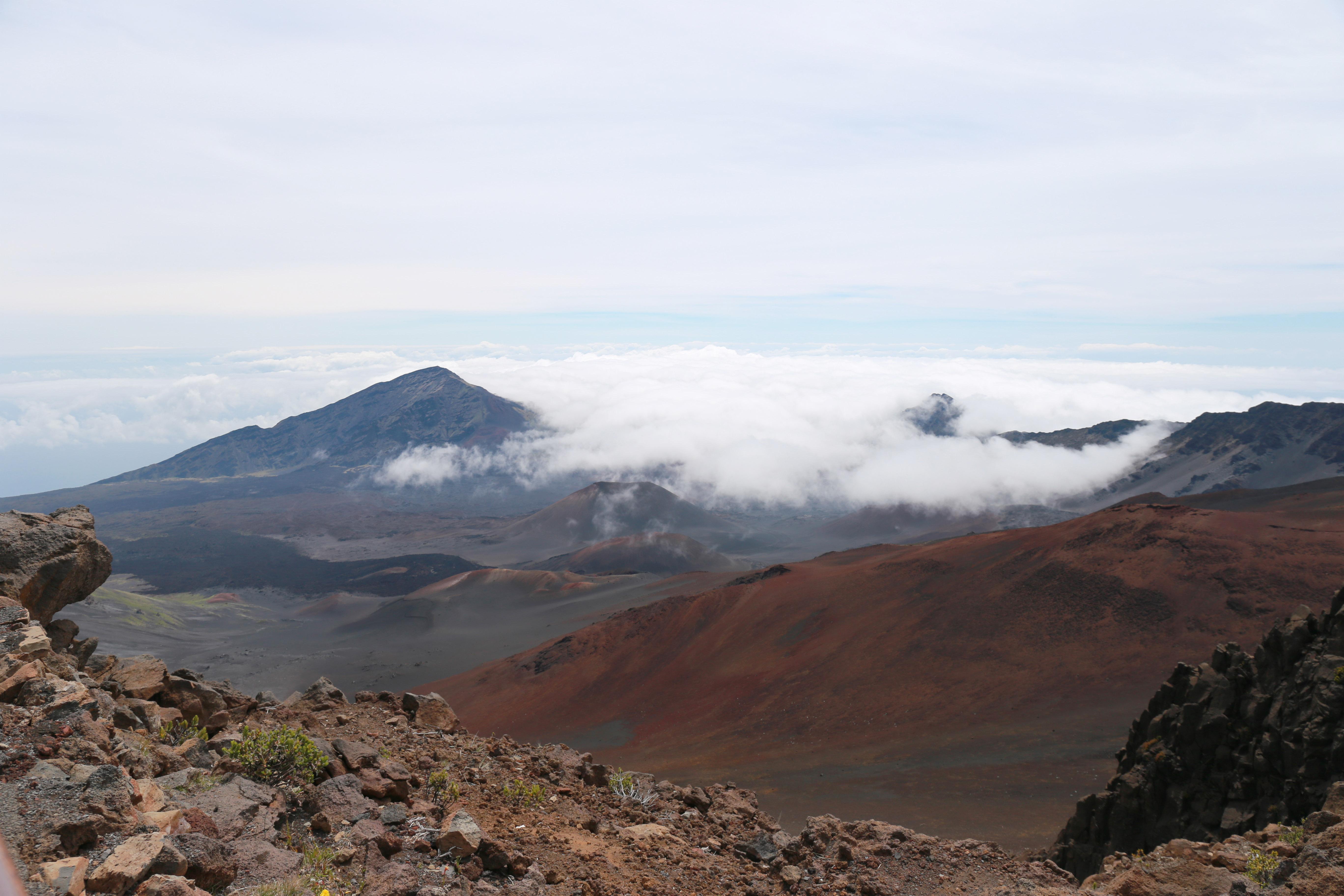 Haleakala creater