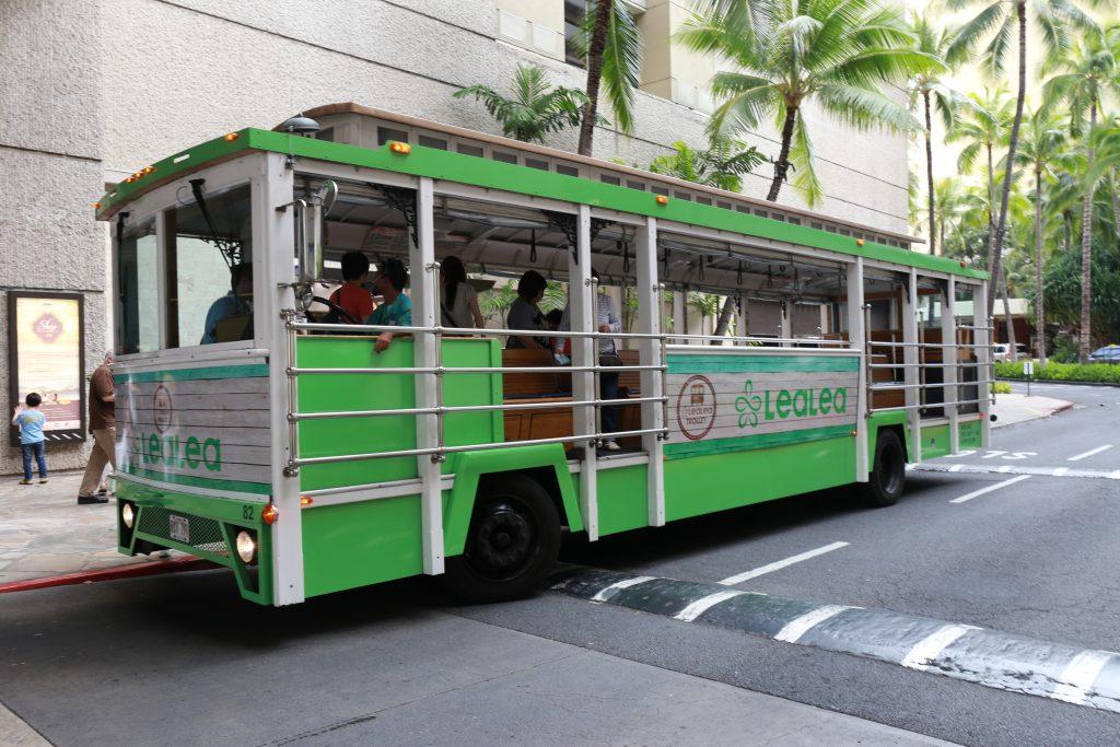 Honolulu LEALEA Waikiki Trolley