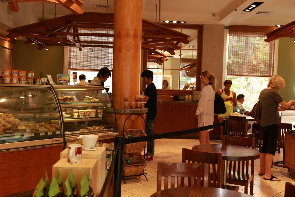 Cafe in Waikiki