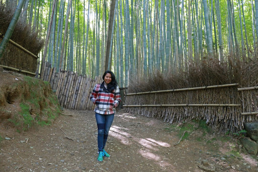 Me at Bamboo Forrest