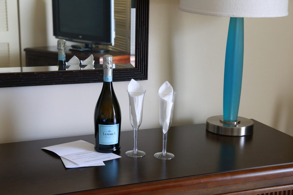 Sparkling Wine at Holiday Inn