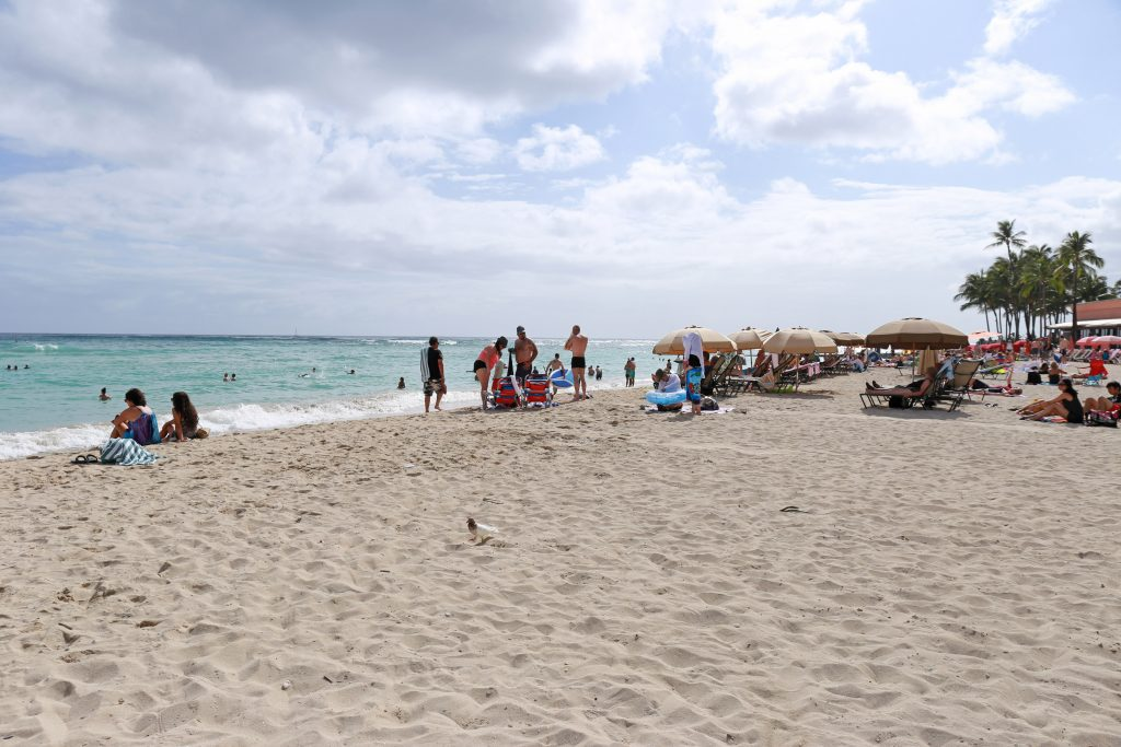 Waikiki other side