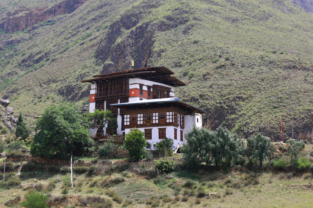 A House in Paro