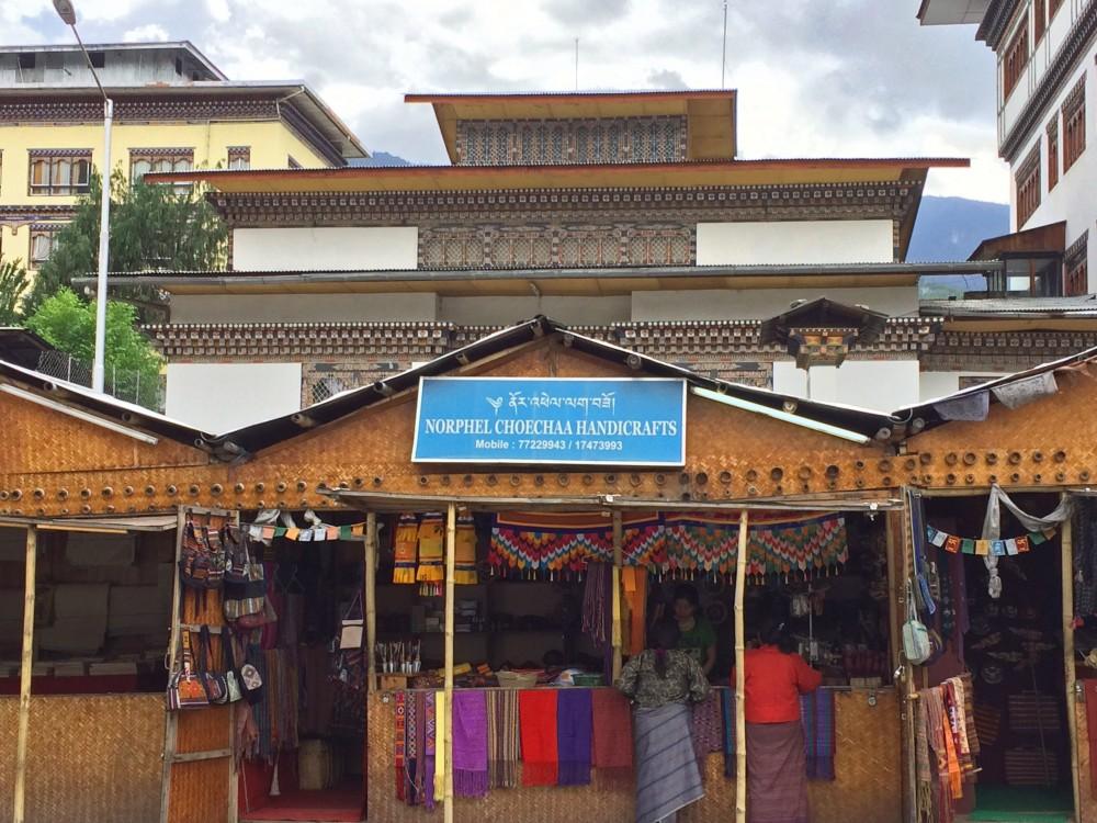 Thimphu Handycraft Market
