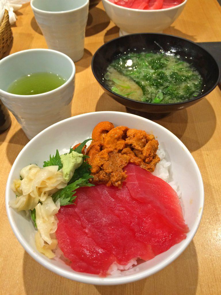 tsukiji seafood bowl