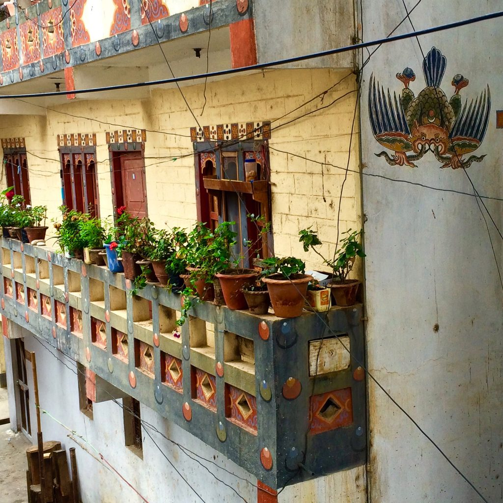 Balcony in  Punakha