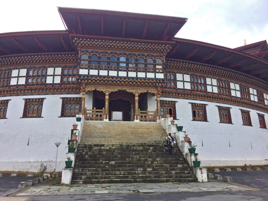 Chukha dzong entrance
