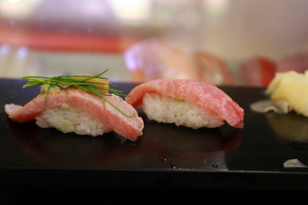 Fatty Tuna Belly Sushi