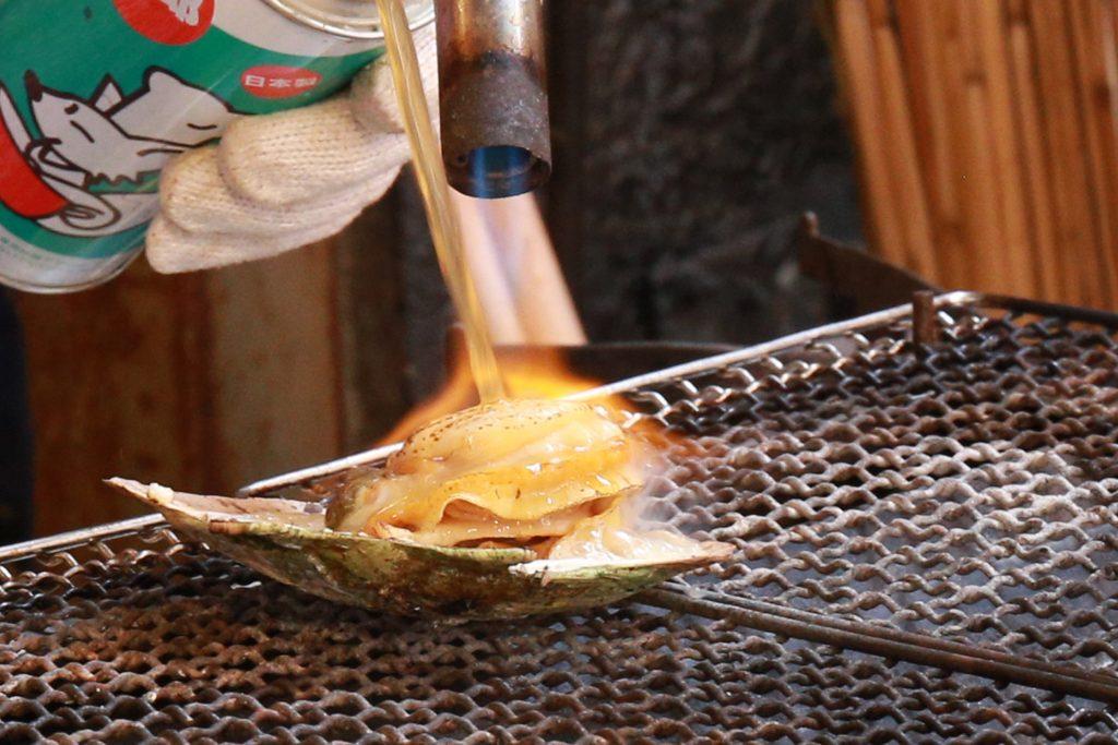 Grilled Scallop Tsukiji