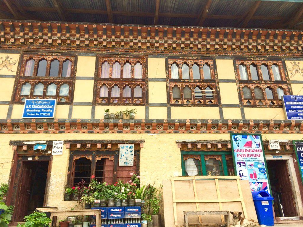 House of Punakha Bhutan