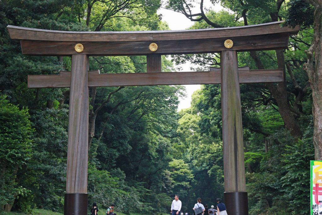 Meiji Jingu Shrine gate
