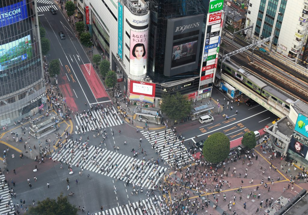 Shibuya from the Height