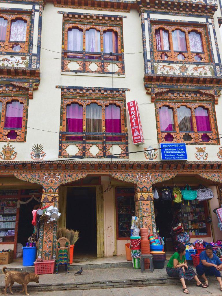 Store in Punakha Bhutan
