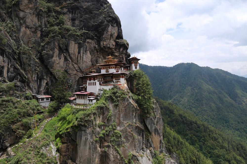 Thakshang Monestry Bhutan
