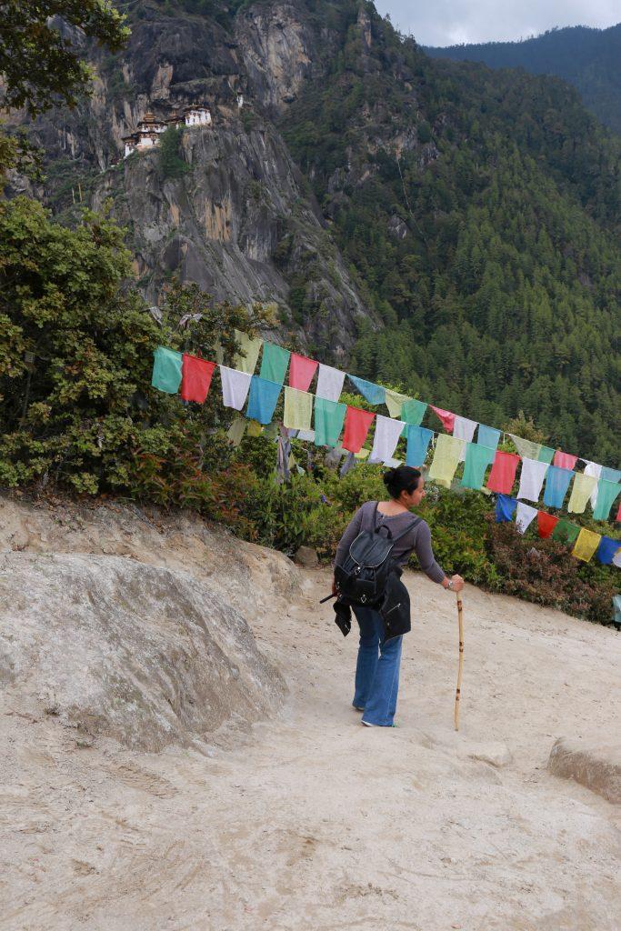 Trekking Downhill Tiger Nest