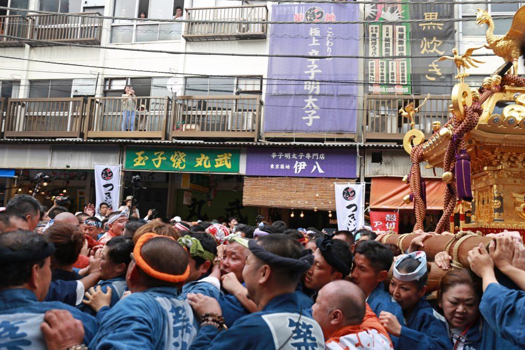 Tsukiji Lion Dance Festival