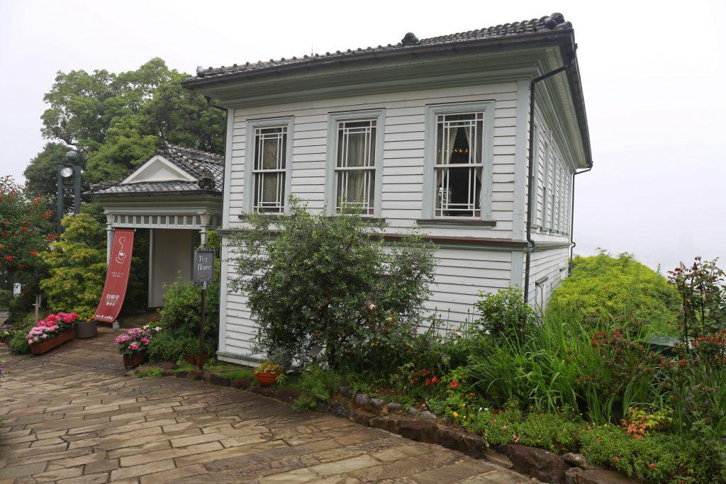 Tea House in Glover Garden