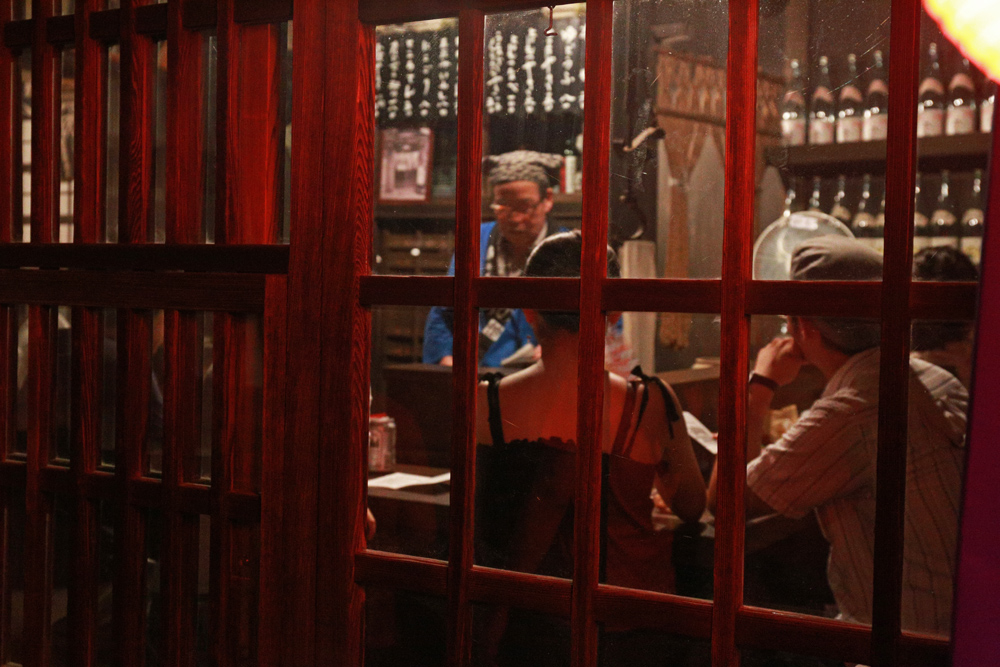 Izakaya-in-Edo-Period
