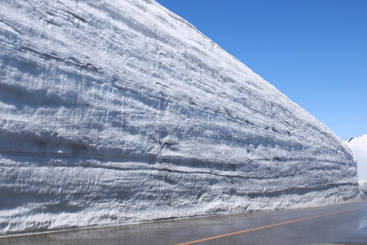 A guide to tateyama alpine route snow walls tiptoeingworld Are we going to get snow this year 2016