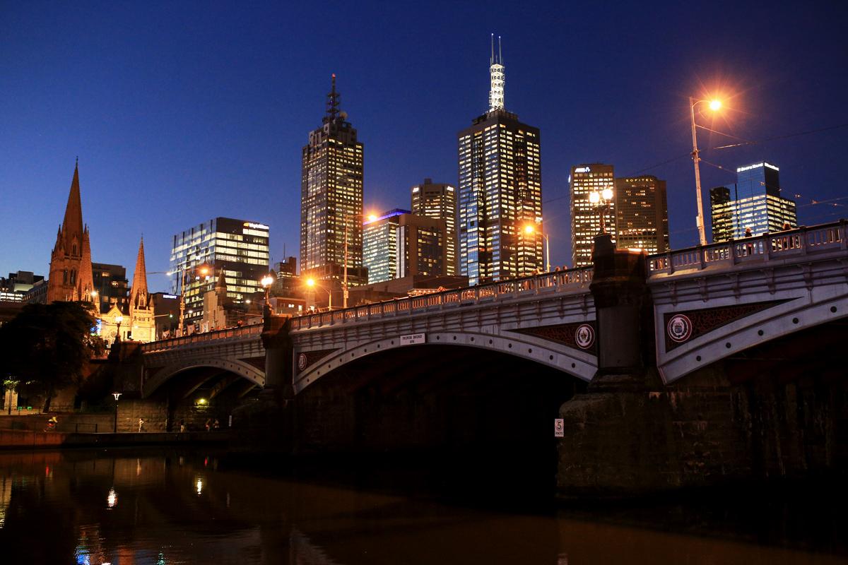 Melbourne-Scenary