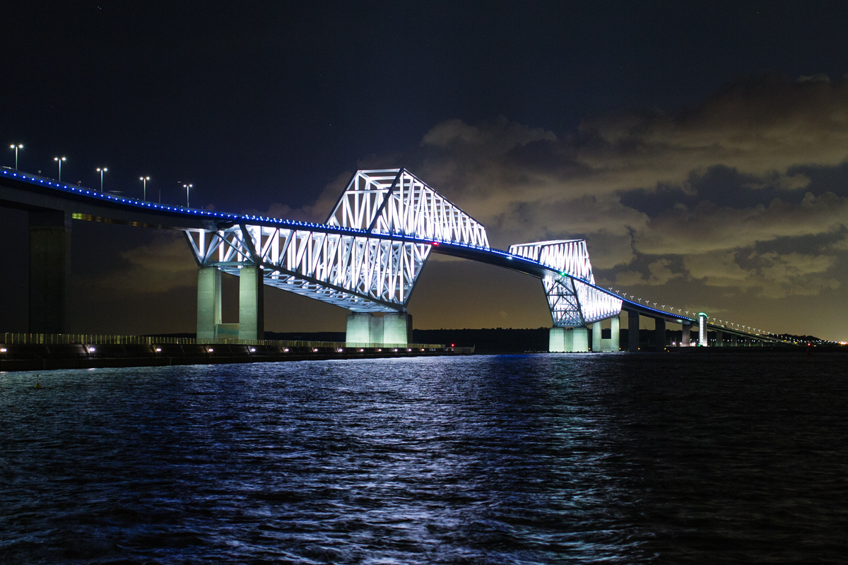Tokyo Gate Bridge in the Evening