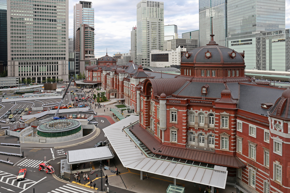 Tokyo Station from JP Tower