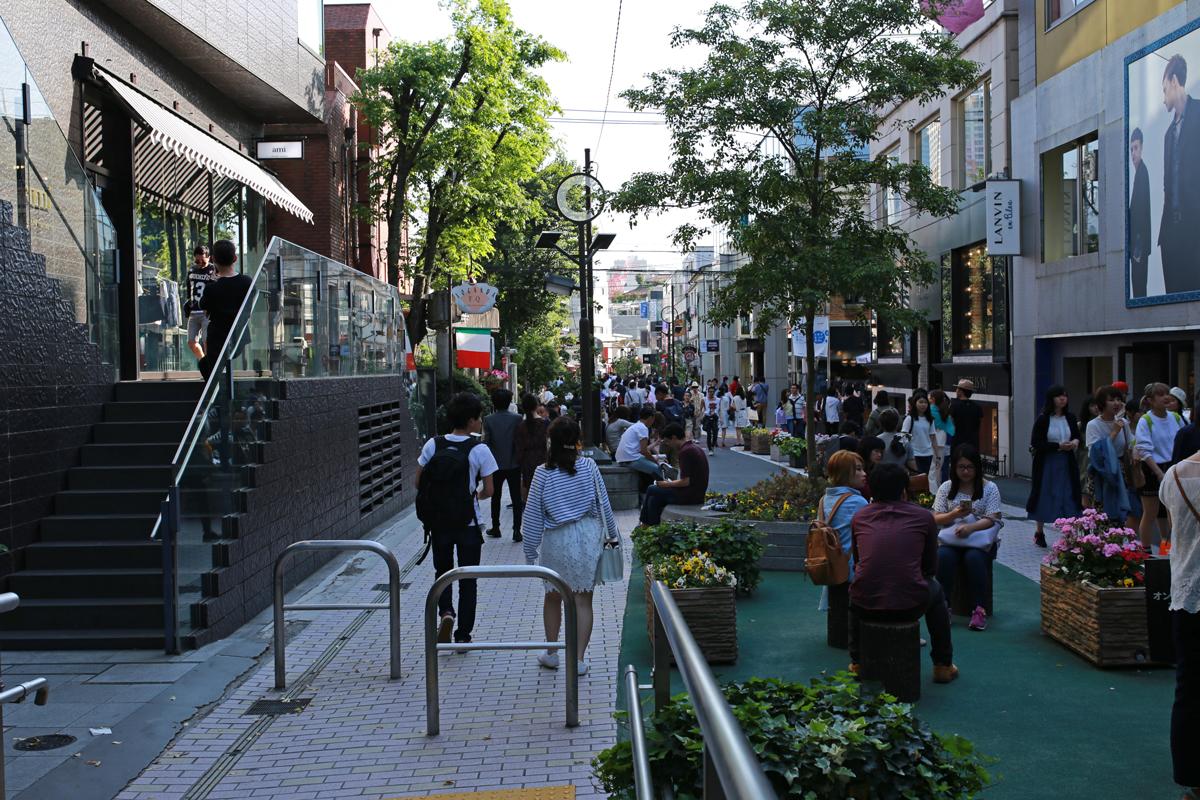 Cat Street Omotesando
