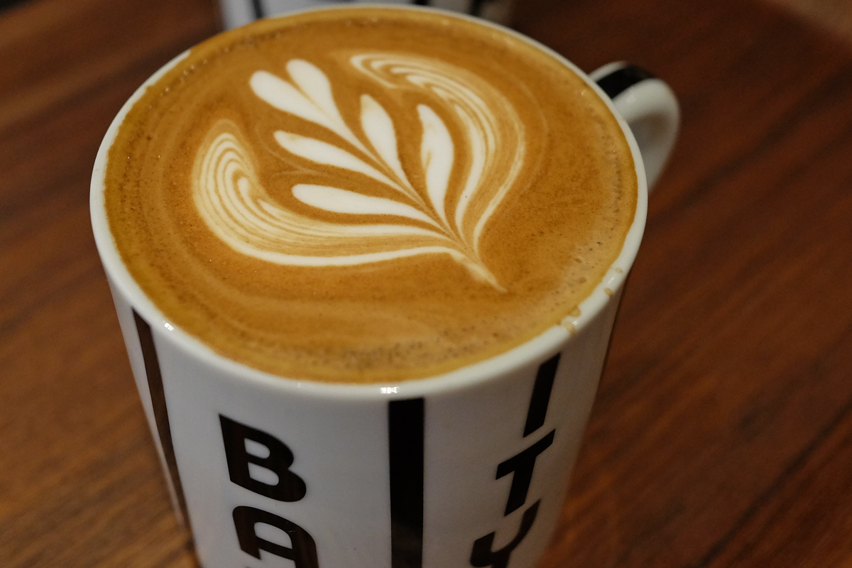 Best Caffe Latte in Tokyo: City Bakery Ginza
