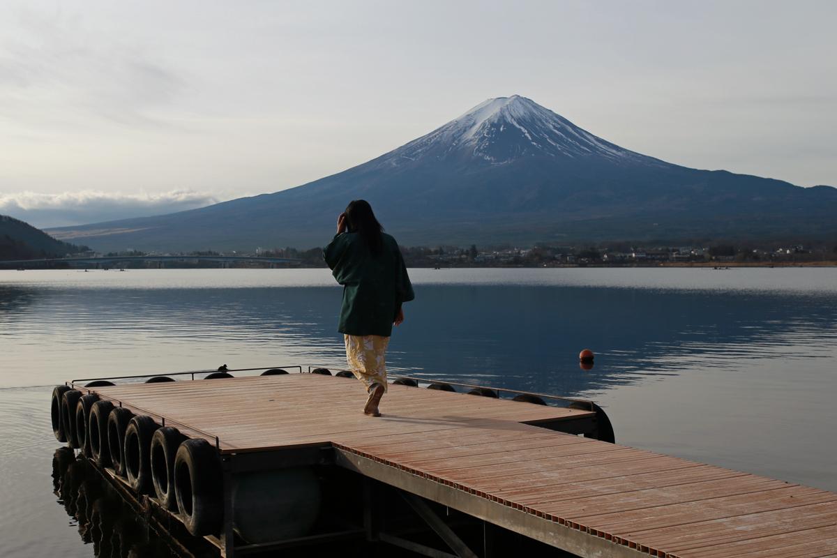 Day Trip to Lake Kawaguchi