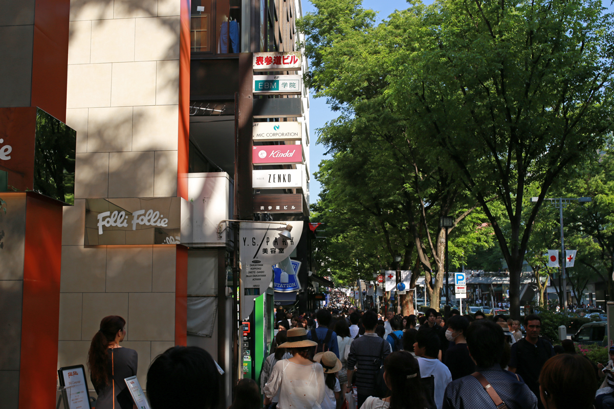 Window Shopping in Omotesando