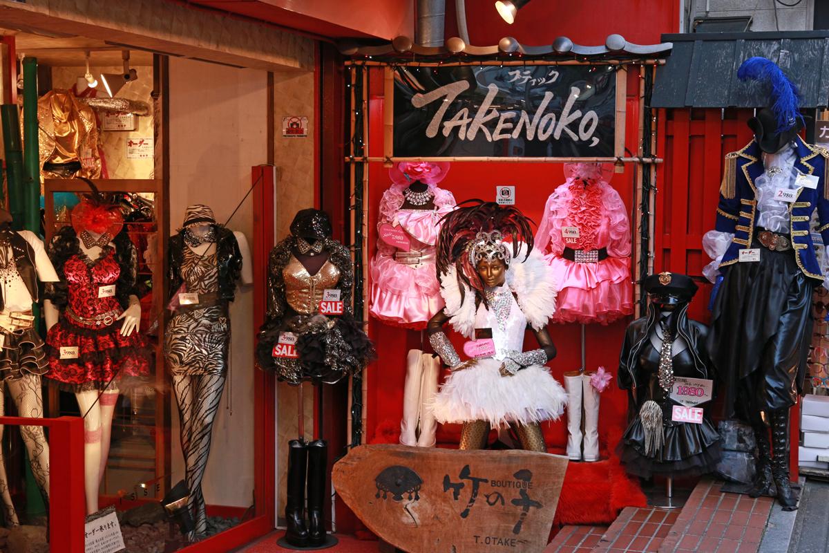 Shopping at Takeshita Street Harajuku