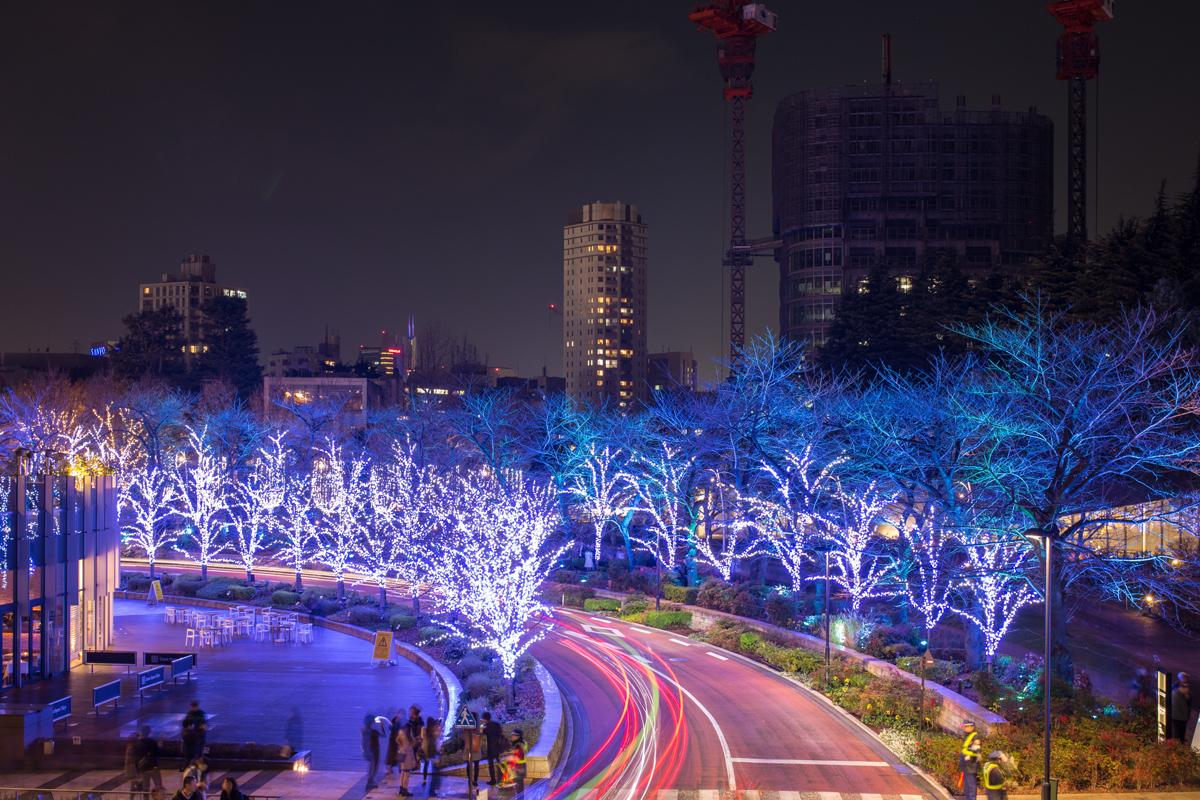 Tokyo Midtown in Winter
