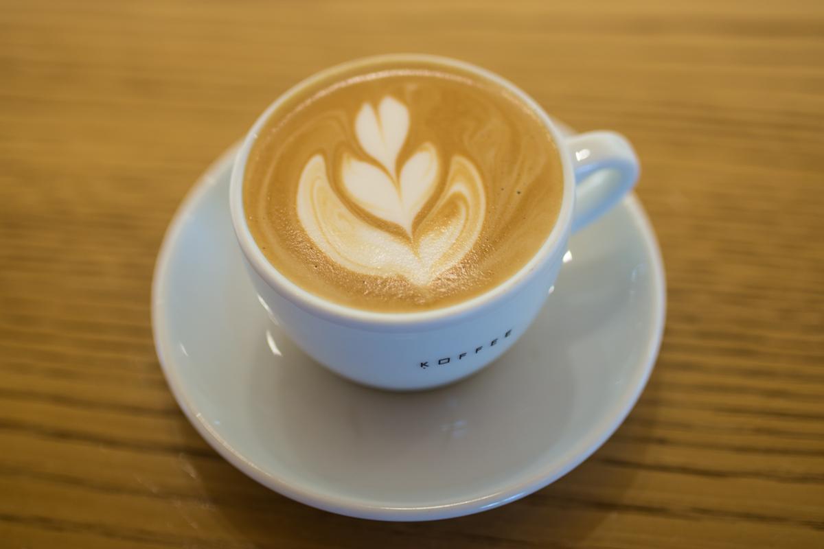 Best Caffe Latte in Tokyo: Toranomon Koffee