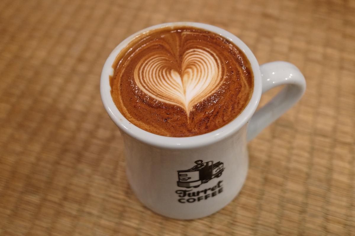 Best Caffe Latte in Tokyo: Turret Tsukiji