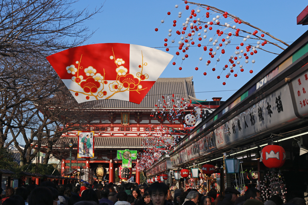 New Year Senso-ji Temple