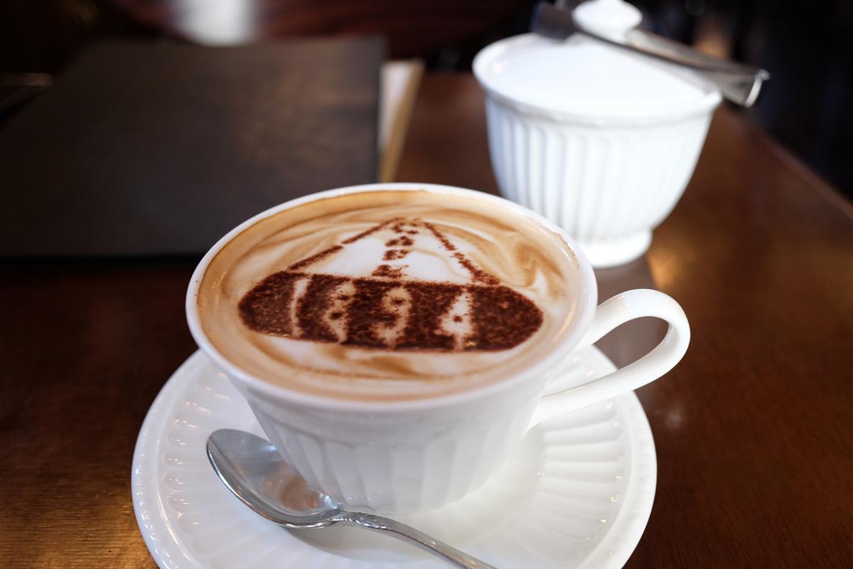 Coffee at Cafe 1894 Marunouchi Tokyo