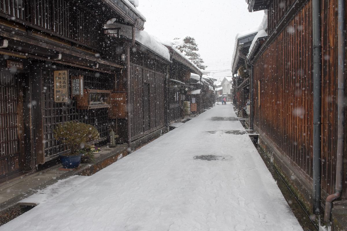 Takayama in Winter