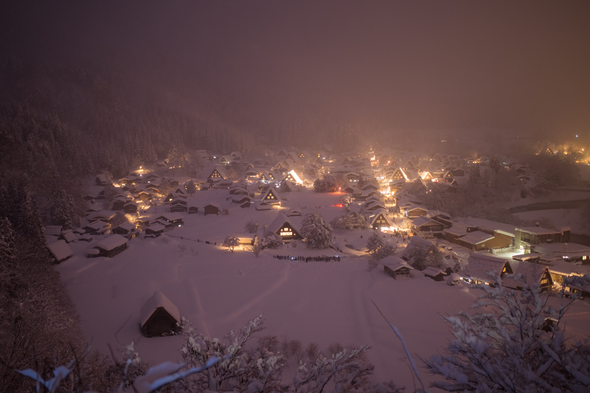 Winter Light-up Shirakawa-go