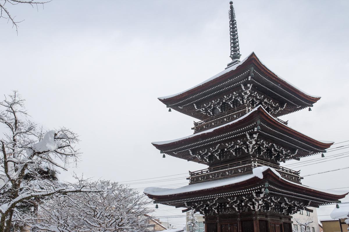 Takayama Kokubun-ji Temple