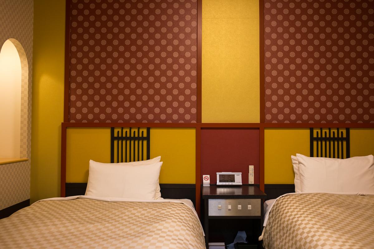 Bedroom at Hida Hotel Plaza