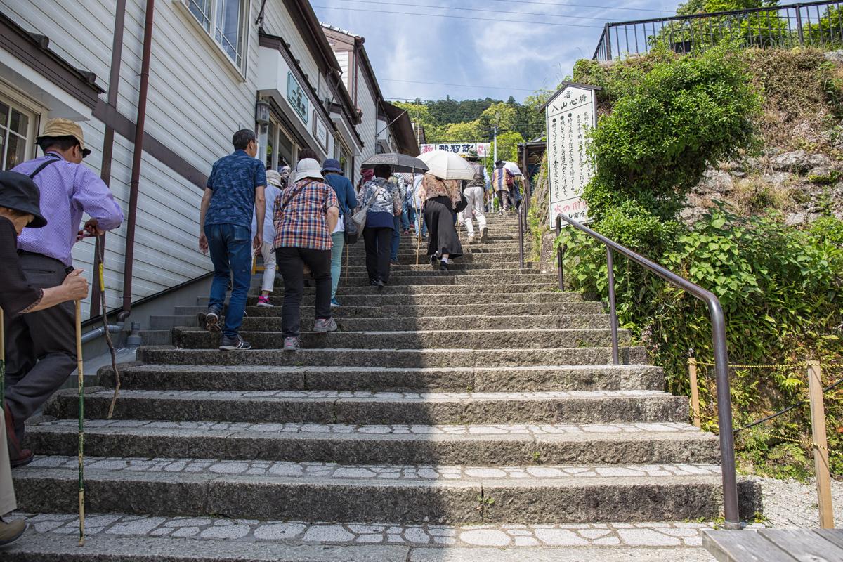 Stairs to Nachi Taisha