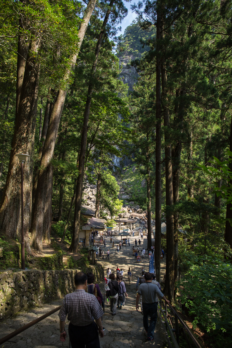 Stairs to Nachi Falls