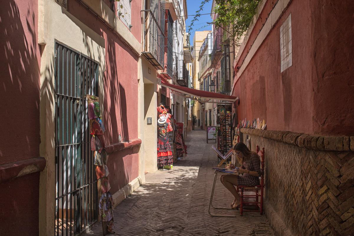 Calle Pimienta, Barrio Santa Cruz Seville